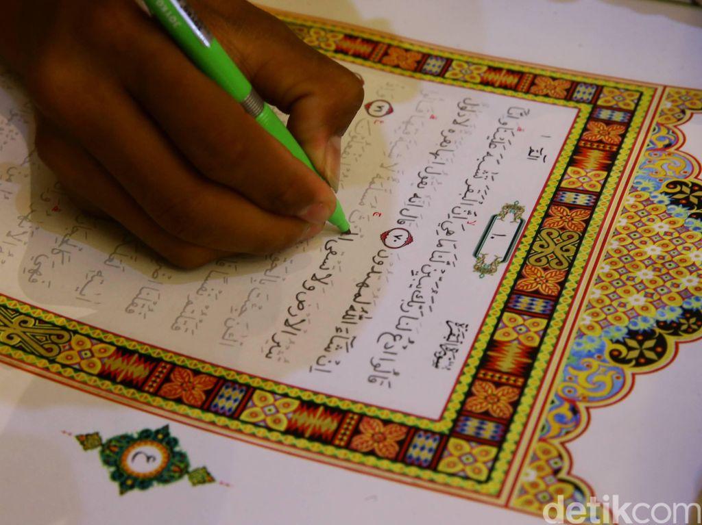 Pencanangan Budaya Menulis Mushaf Alquran