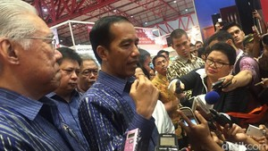Pukul Gendang, Jokowi Buka <i>Trade Expo</i> ke-31
