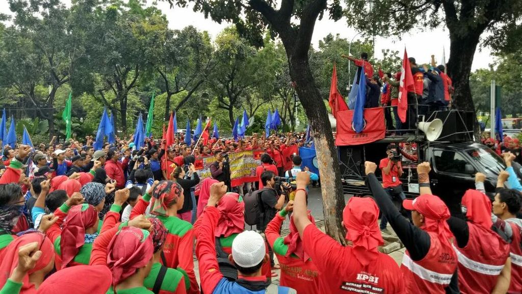 Kritisi 2 Tahun Jokowi-JK, Serikat Buruh: Kita Kecewa Skema Upah yang Baru