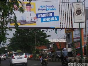 Bakal Cagub-Cawagub Banten Perang Spanduk dan Baliho!