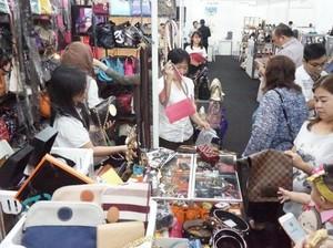 Pengunjung Bazar Barang Branded di Jakarta Naik 10% Tiap Tahunnya
