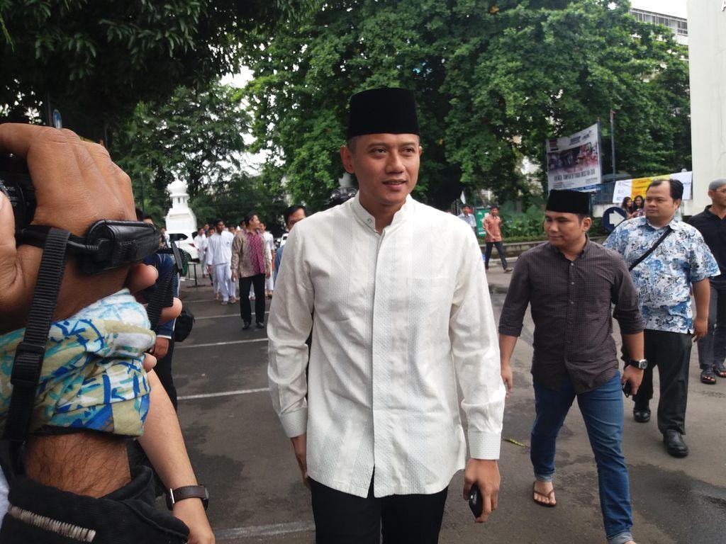 Didukung Adhyaksa Dault, Agus Yudhoyono: Saya Tidak Minta, Itu Doa