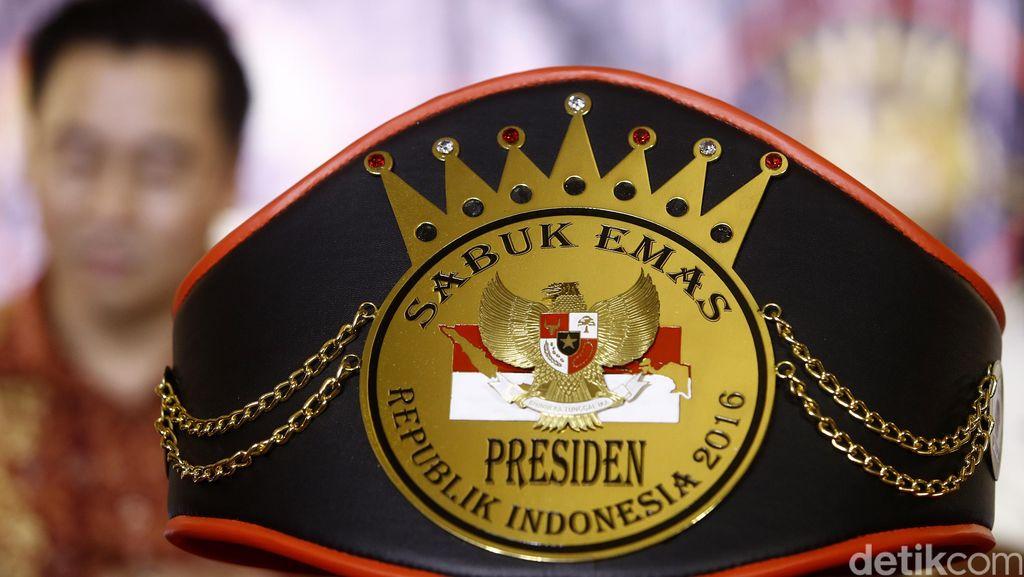 FTPI Gelar Tinju Sabuk Emas Presiden