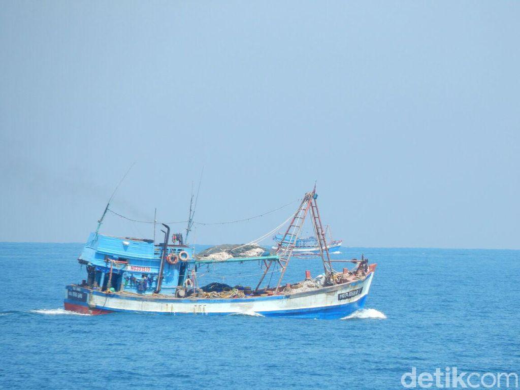 Anak Buah Susi Tangkap 7 Kapal Asing di Perairan Kepri dan Sulawesi Utara