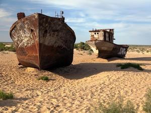 Cerita Laut yang Hilang di Asia Tengah