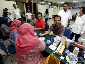KONI Pusat Gelar Donor Darah
