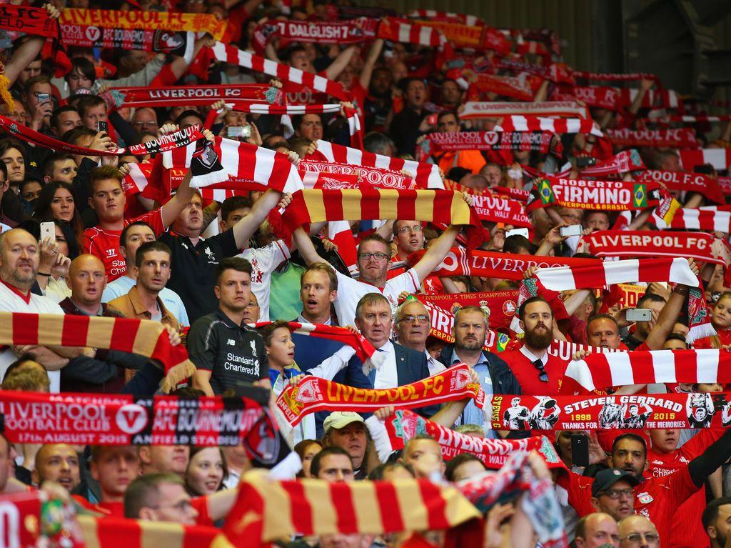 Si Merah Ingin Maksimalkan Jumlah Suporter yang Lebih Besar di Anfield