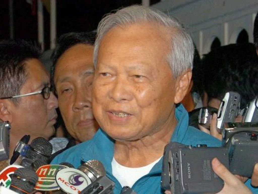 Mantan PM Prem Tinsulanonda Ditunjuk Jadi Pemangku Raja Thailand
