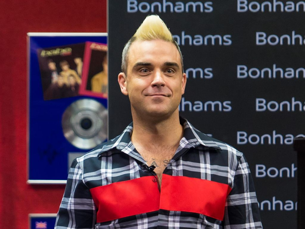 Tingkah Lucu Putri Robbie Williams Saat Protes ke sang Ayah