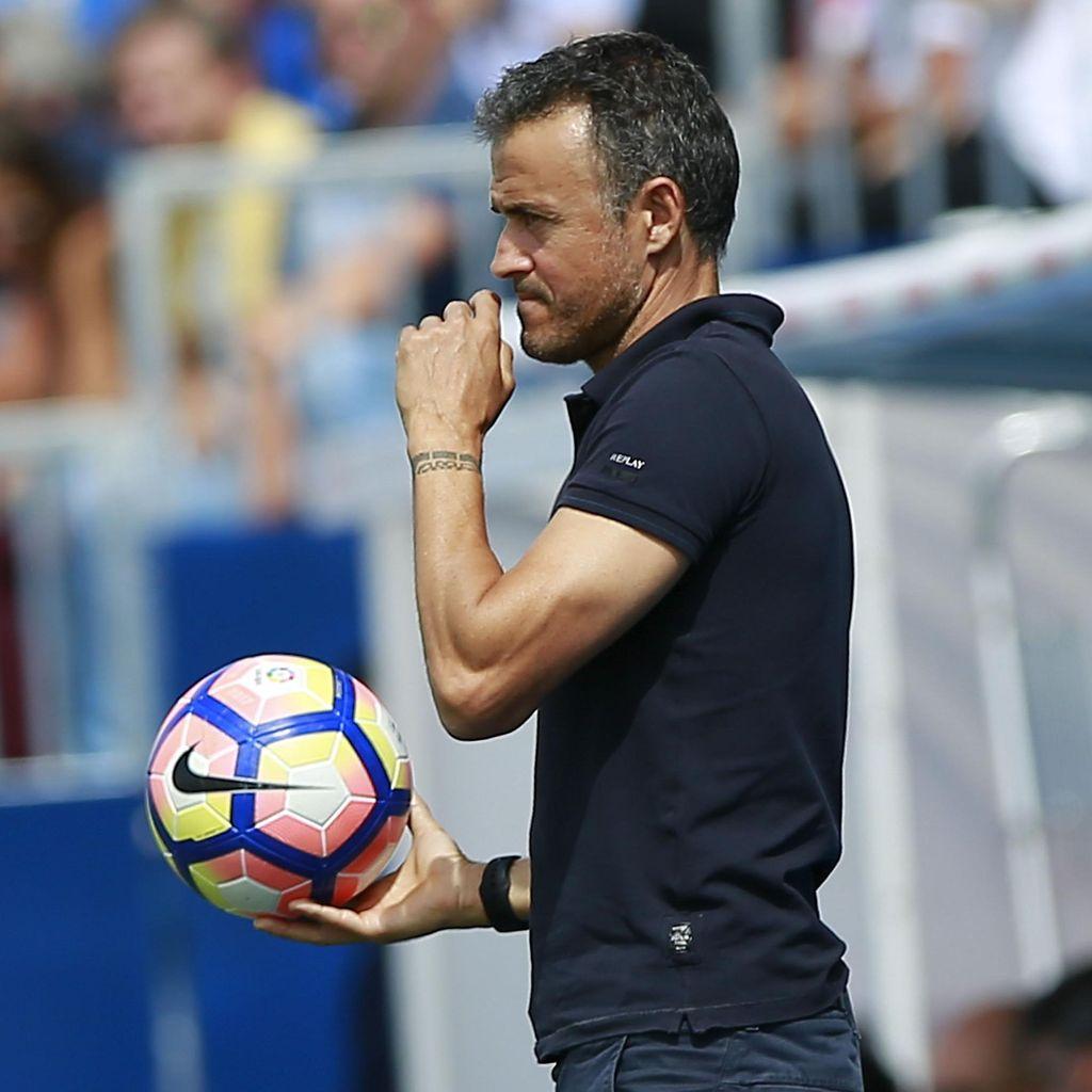Enrique Optimistis Hasil Copa Tak Pengaruhi Barcelona