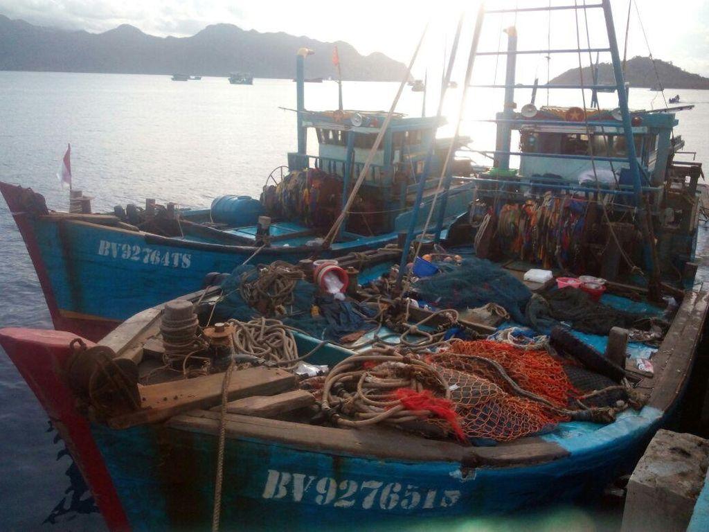 TNI AL Tangkap Kapal Ikan Asing di Perairan Selat Malaka Aceh