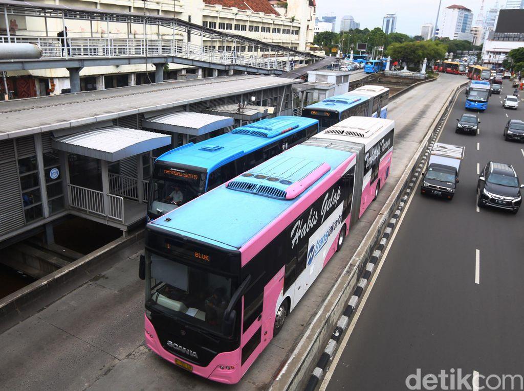Gegara Corona Aktivitas Transportasi di Jakarta Berubah