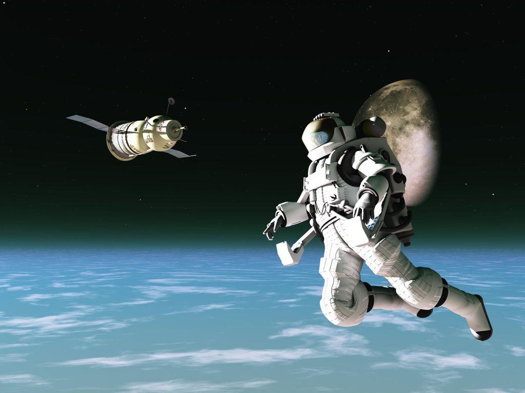 Seperti Apa Astronaut Tidur di Ruang Angkasa?