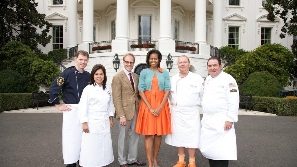 Mario Batali Siapkan Jamuan Makan Malam Kenegaraan Terakhir Obama