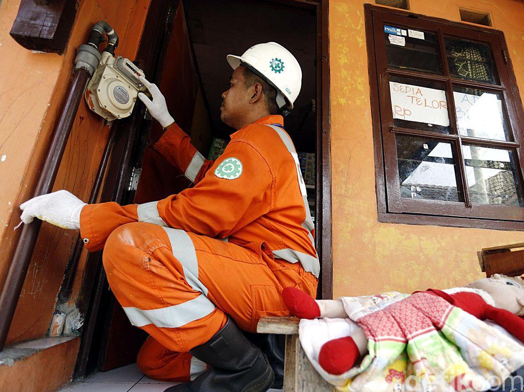 Salurkan Gas ke Rumah-rumah, PGN dan Pertamina Tak Ambil Untung