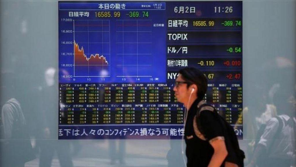 Bunga The Fed Bakal Naik: Dolar AS Menguat, Bursa Asia Berguguran