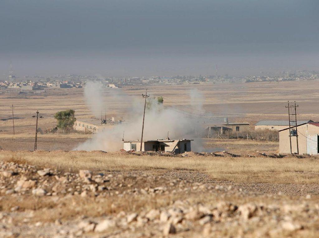 Konvoi Militer Suriah Diserang Pasukan ISIS, 3 Tentara Tewas