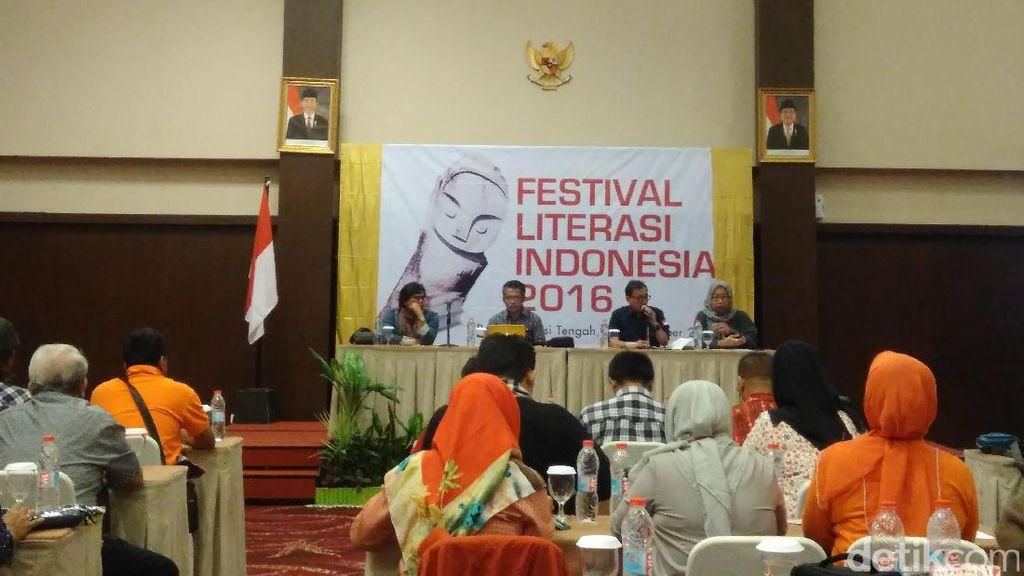 Festival Literasi Indonesia 2016 Dibuka Hari Ini
