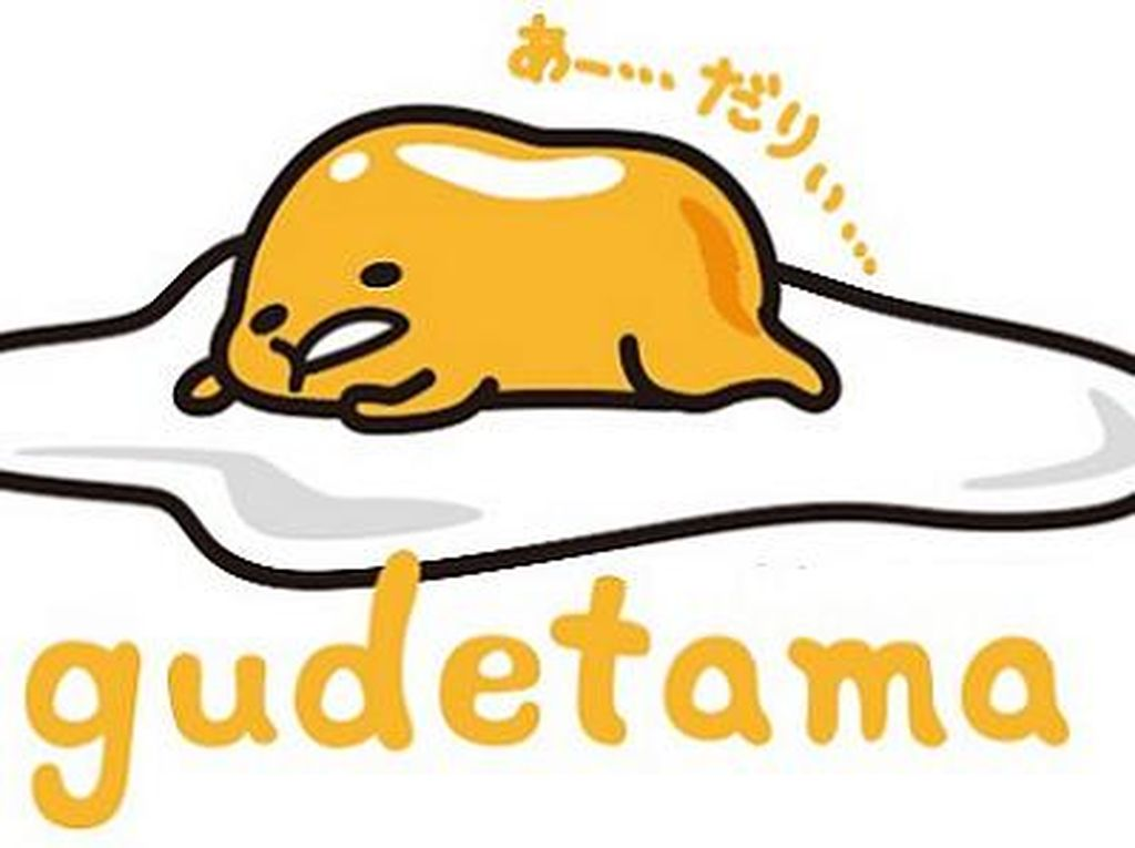Si Kuning Telur Pemalas, Gudetama  akan Hadir di Singapura Dalam Bentuk  Kafe