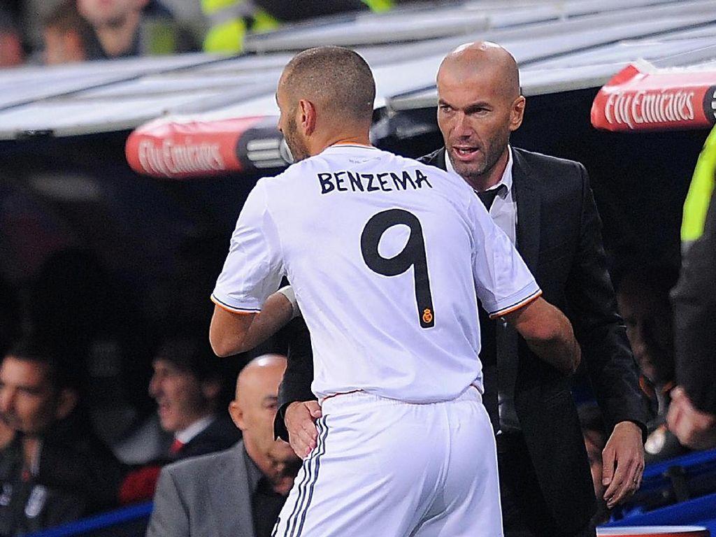 Bukan Sekadar Pelatih, Zidane Sudah Seperti Kakak untuk Benzema
