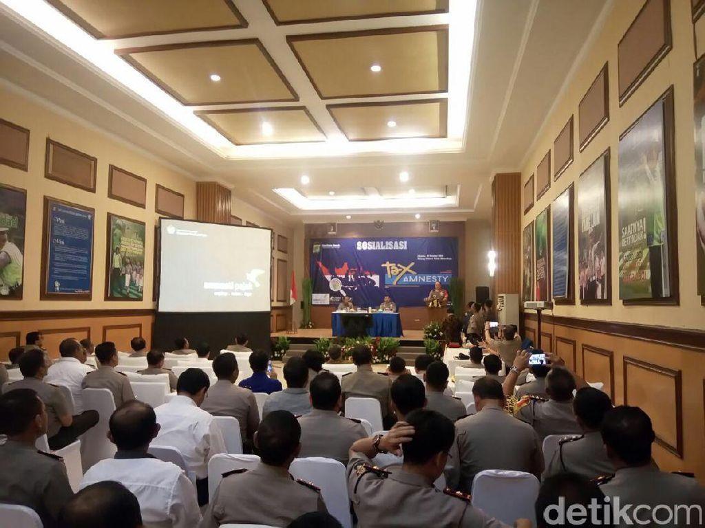 Ratusan Polisi Ikut Sosialisasi Tax Amnesty di Polda Metro Jaya