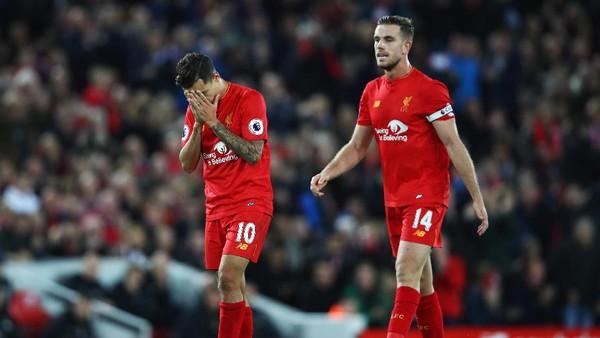 <i>The Reds</i> Bisa Mainkan Coutinho dan Henderson di Old Trafford