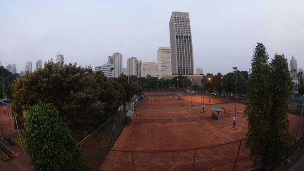 Kasus Hukum Diyakini Tak Ganggu Alih Fungsi Lapangan Tenis ke Stadion Bisbol