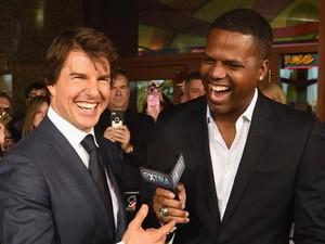 Pesona Tom Cruise di Acara Amal