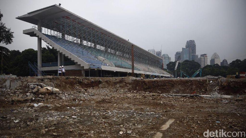 Jelang Asian Games, Venue Akuatik Direnovasi