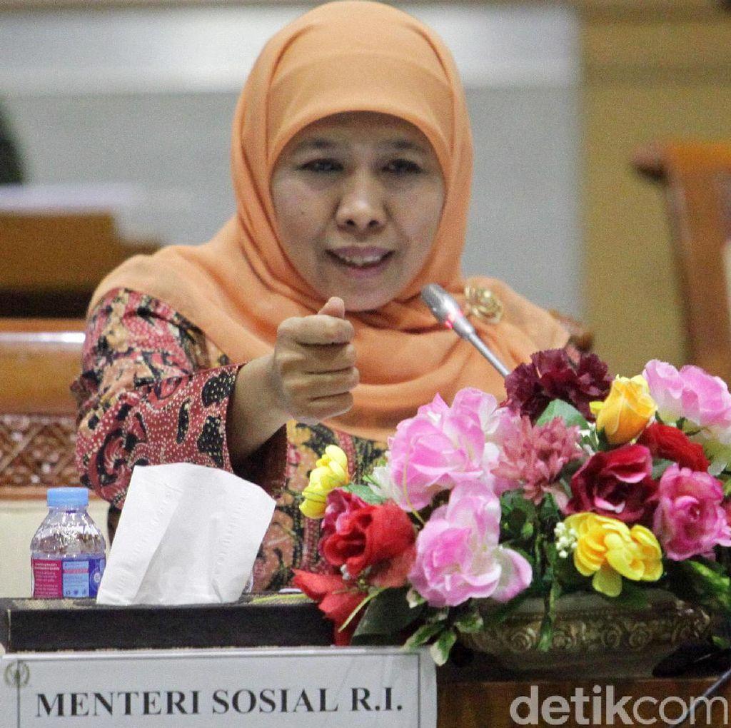 Mensos Soroti soal Penanggulangan Bencana di Rapim TNI