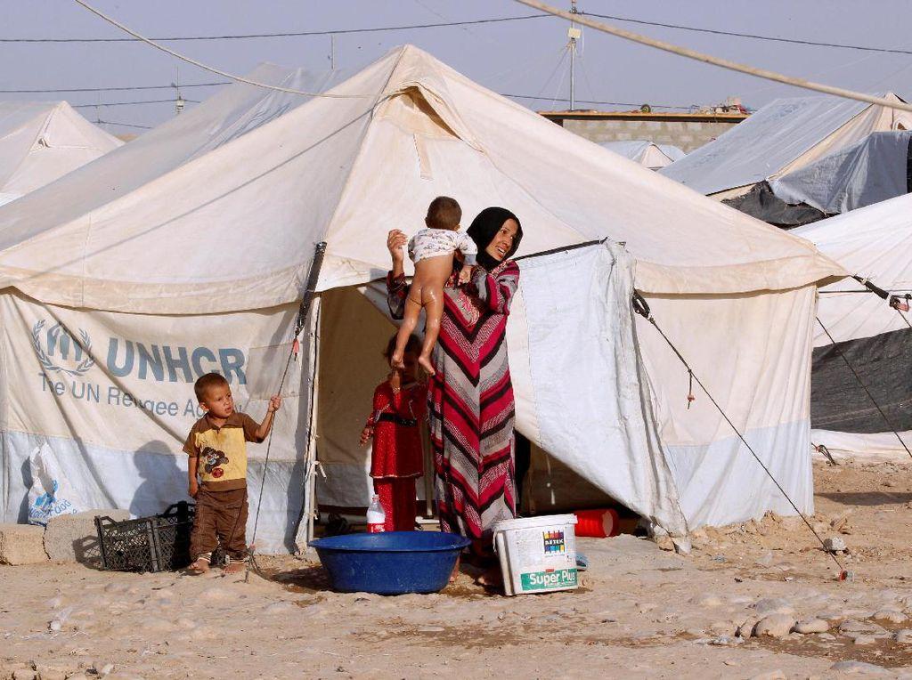 Dampak Operasi Mosul, Begini Kondisi Pengungsi di Irak