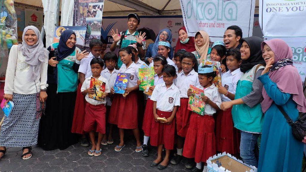 Budaya Membaca di Festival Literasi Indonesia 2016