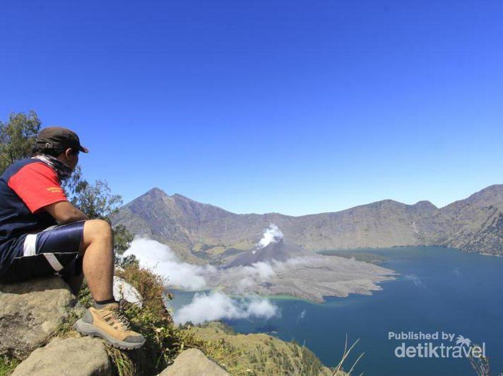Hore! Gunung Rinjani Jadi Anggota Baru UNESCO Global Geopark