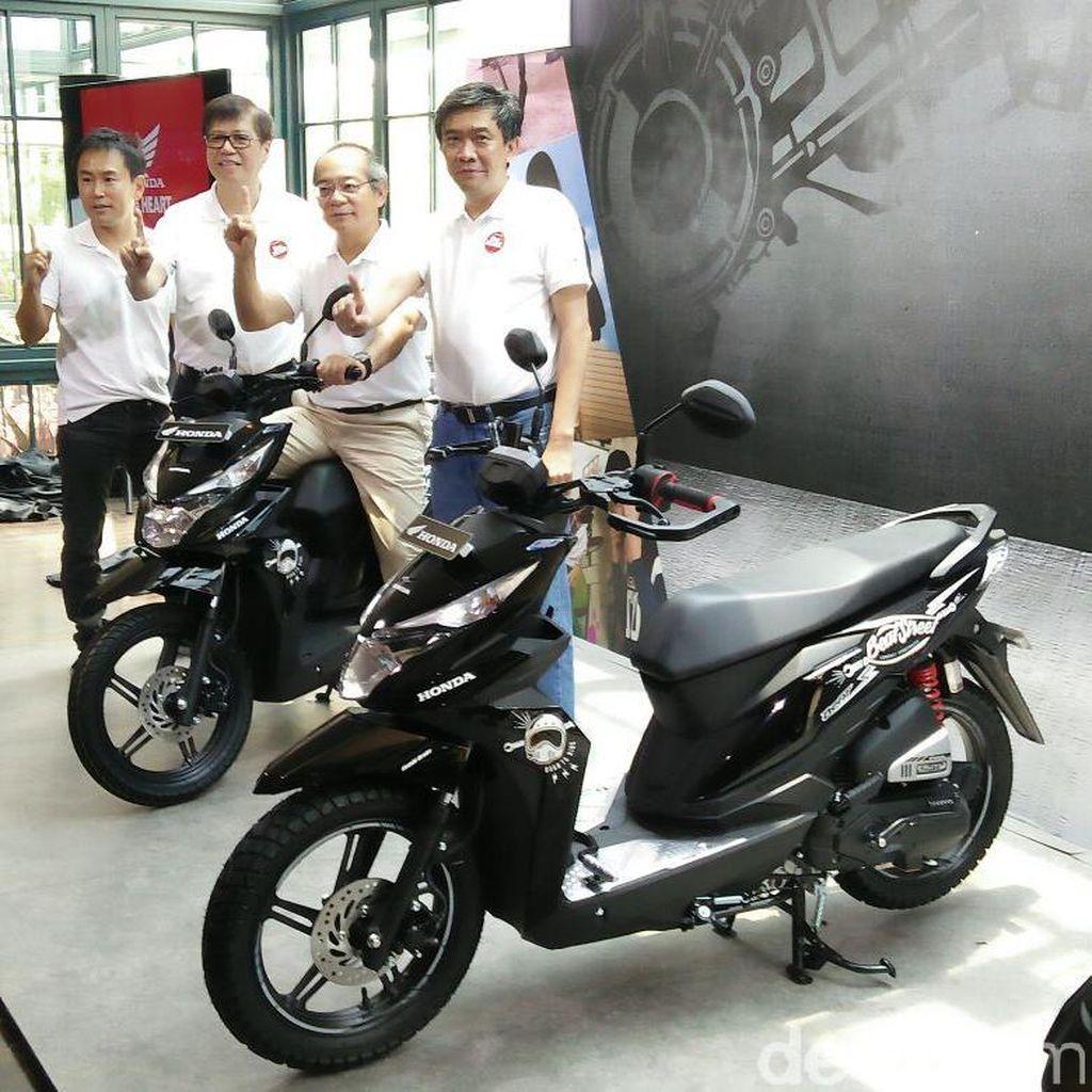 Honda Tambah Varian BeAT dengan BeAT Street