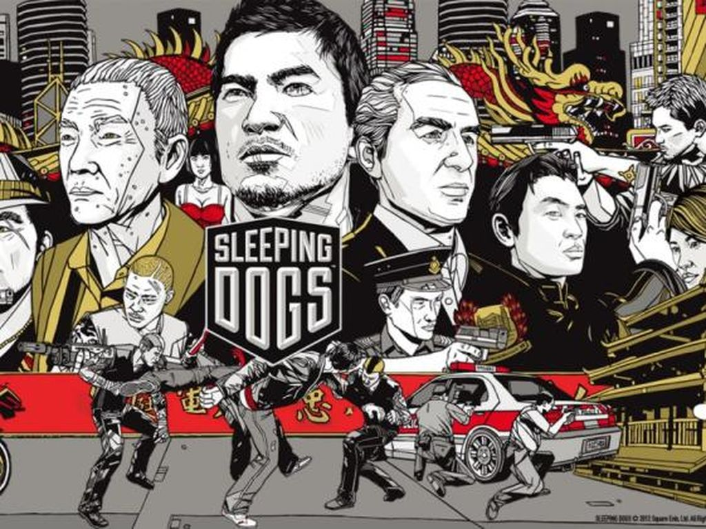 Donnie Yen Jadi Bintang Film Sleeping Dogs
