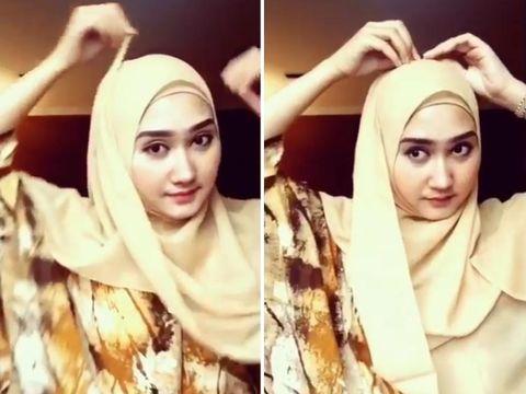 Tutorial Hijab Segi Empat dari Dian Pelangi