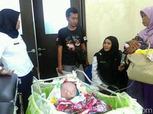 Kesedihan Pasutri asal Trenggalek Anaknya Menderita Hydrocephalus