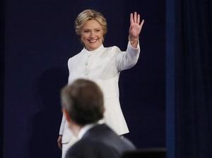 Hillary Clinton Mencuri Perhatian Wanita di Debat Capres karena Masalah Aborsi