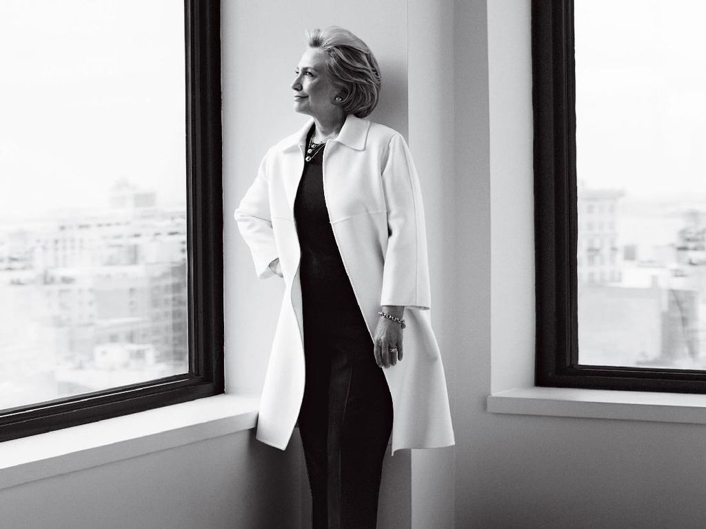 Foto: Didukung Majalah Vogue, Ini 5 Momen Penuh Gaya Hillary Clinton