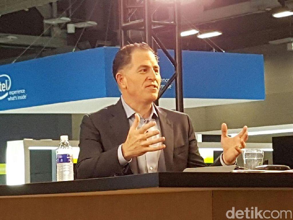 Bos Dell Sumbang Rp 4,5 M Buat Beli Alat Medis di China