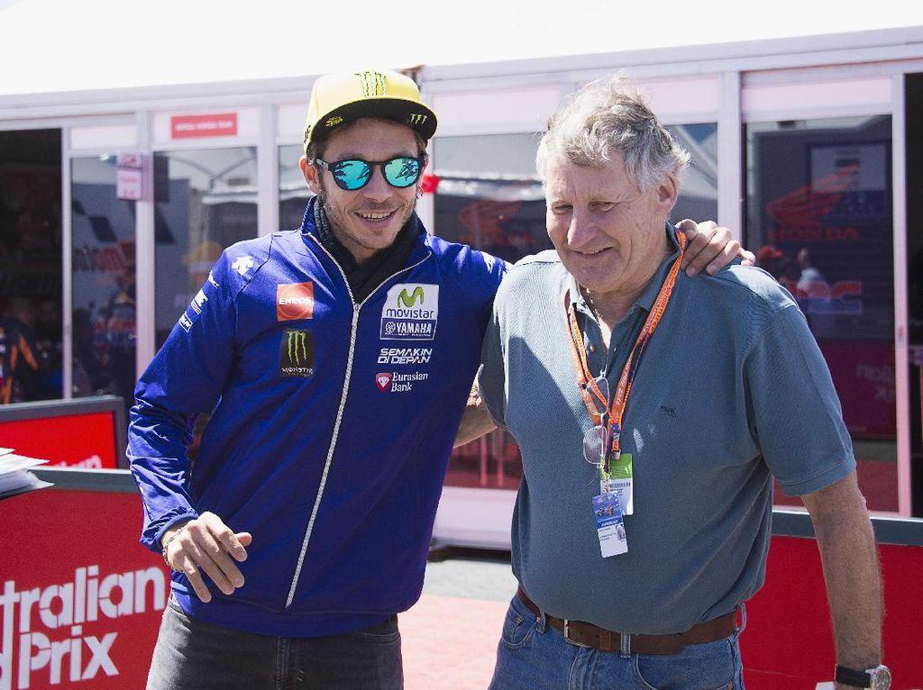 Valentino Rossi Bernostalgia, Kenang Tes-tes Penting di Kariernya