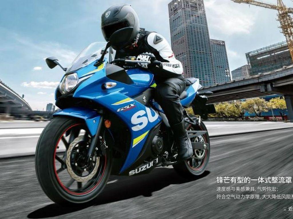 Sebelum Jual Motor Sport 250cc, Suzuki Fokus ke Pasar yang Potensial