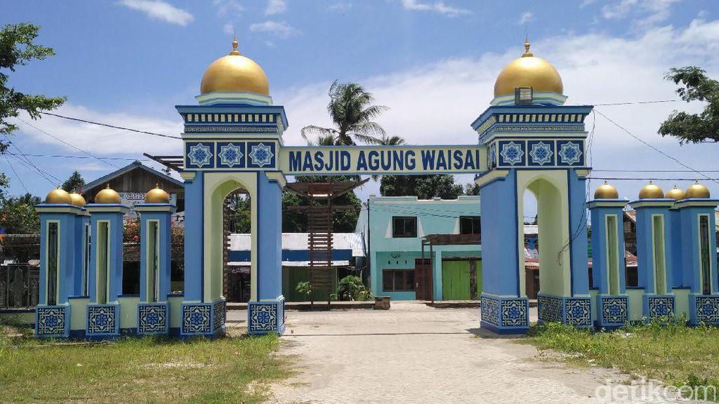 Ini Masjid Sejuk Untuk Ibadah Salat Jumat di Raja Ampat