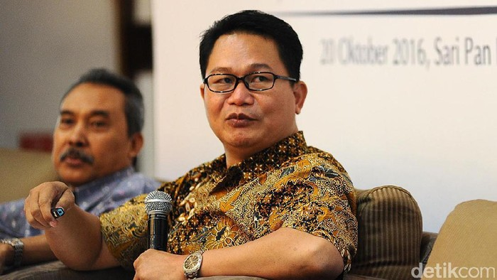 Direktur Saiful Mujani Research and Consulting (SMRC) Sirojudin Abbas