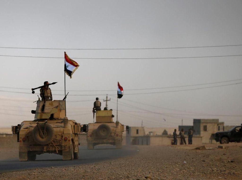 3 Polisi Tewas dalam Serangan ISIS di Irak