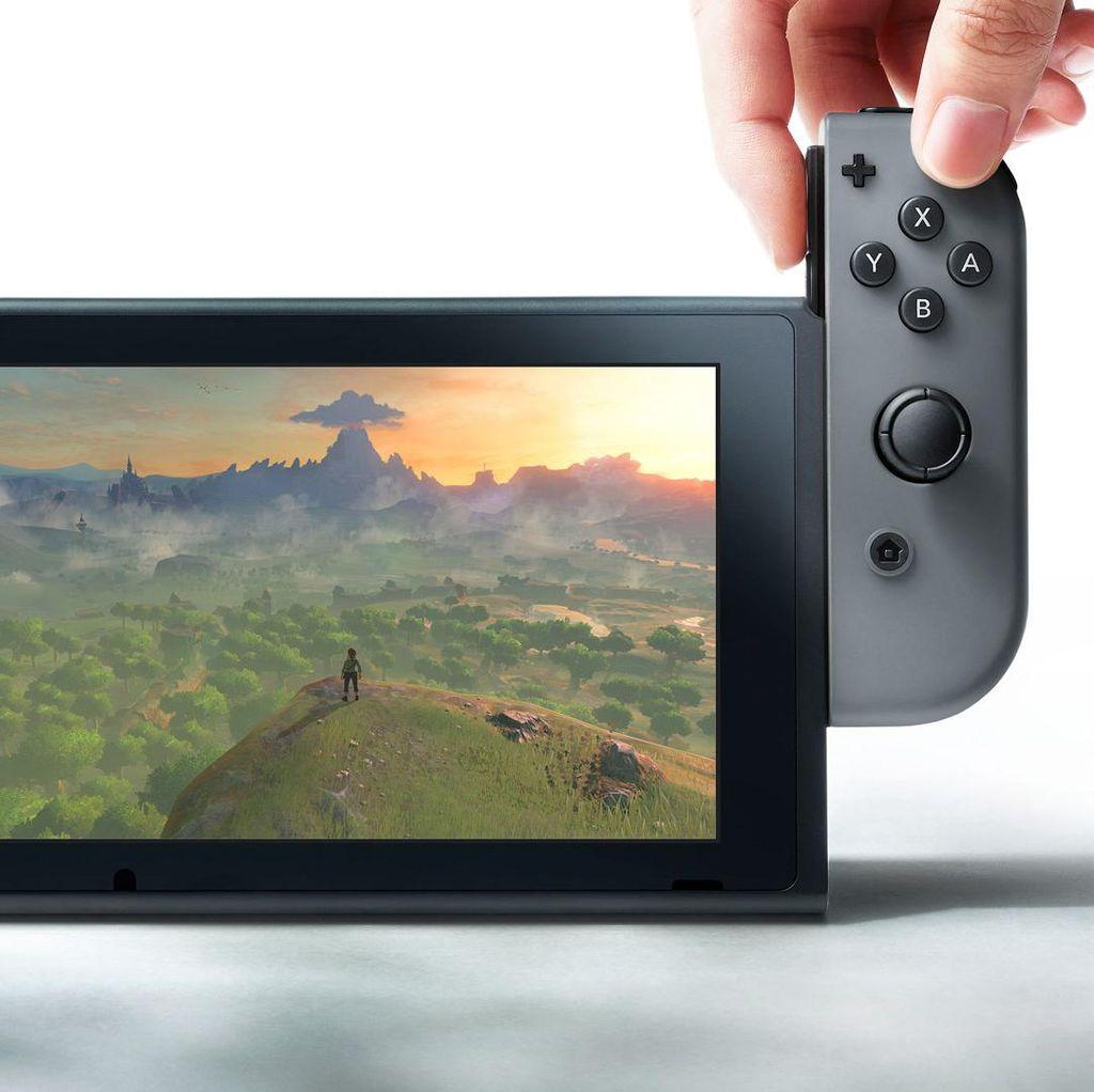 Saham Nintendo Merosot Pasca Pengumuman Switch