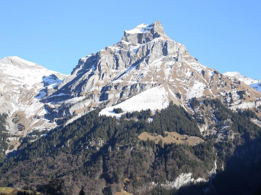 Sedih! Dalam 5 Tahun, Gletser Es di Swiss Mencair Hingga 10 %