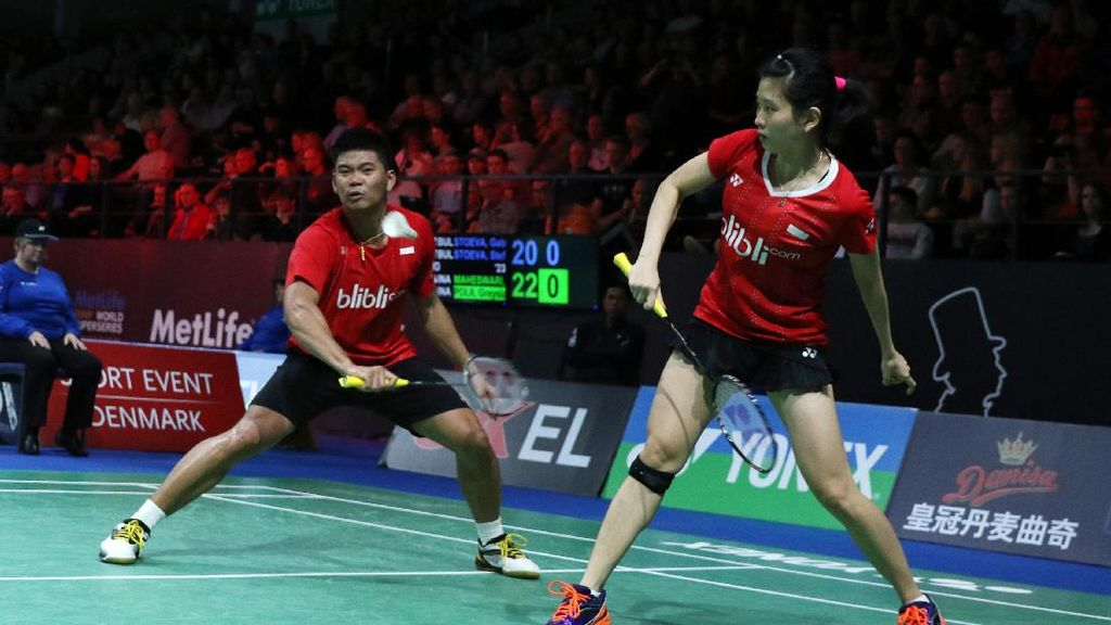 Praveen/Debby Buka Keunggulan Indonesia Atas Denmark 1-0