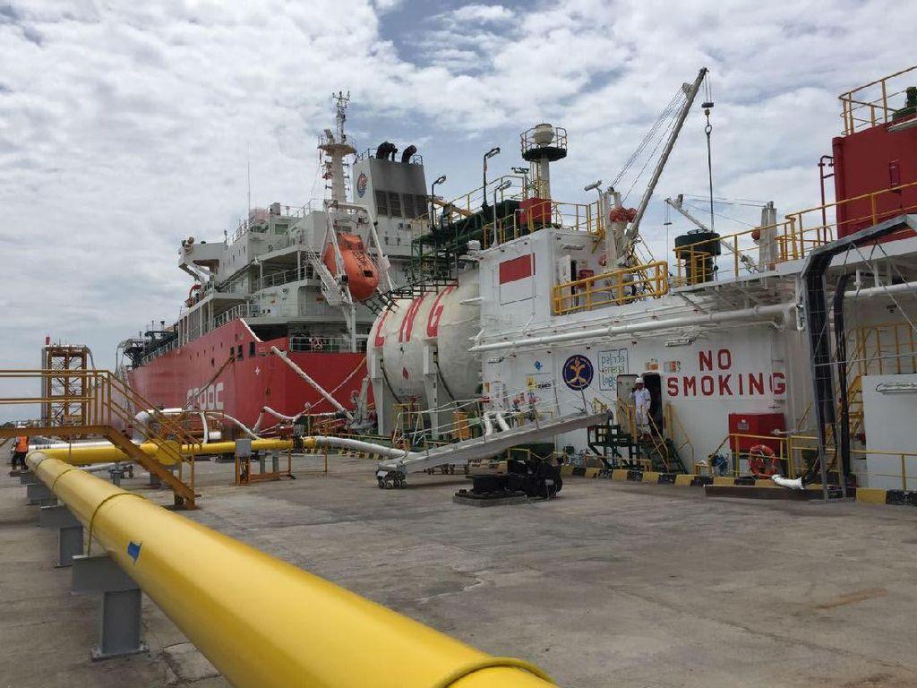 Ini Fasilitas Bongkar Muat LNG yang Dipakai untuk Melistriki Pulau Bali