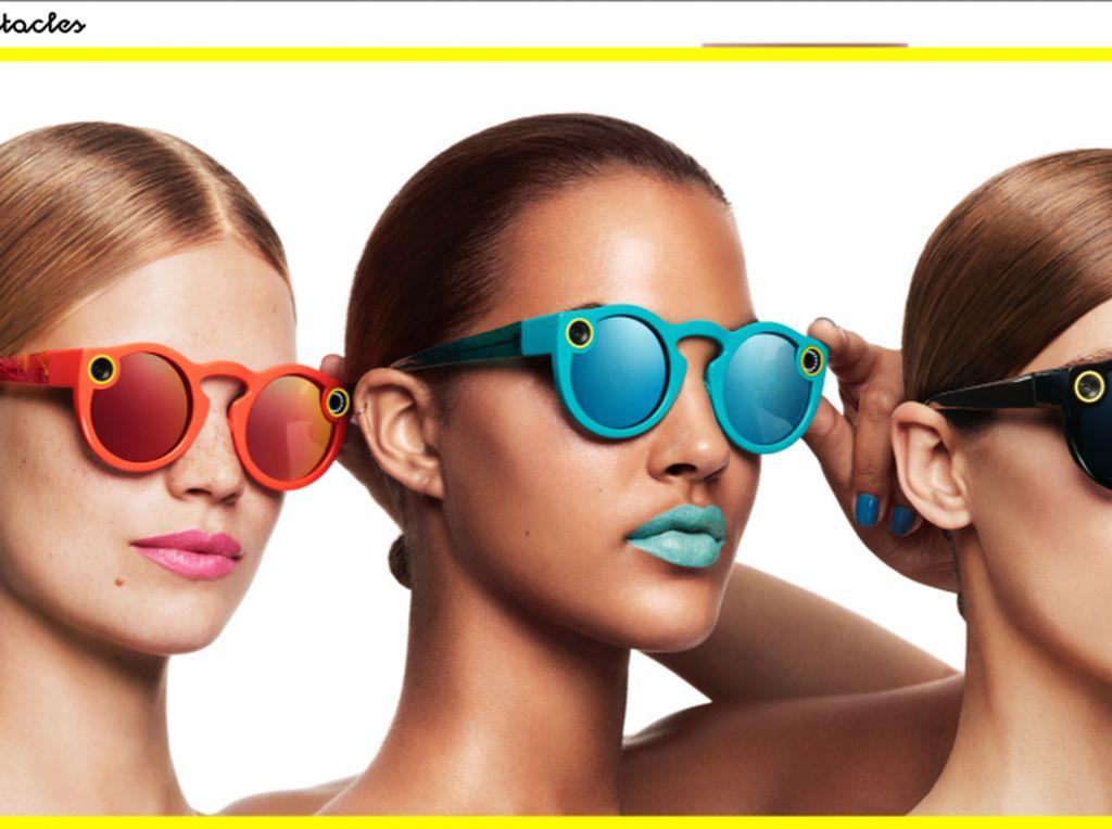 Unik, Cara Snapchat Isi Daya Kacamata Pintar
